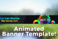 "Minecraft Server Banner Template (Gif) – ""colorpop"" in Minecraft Server Banner Template"