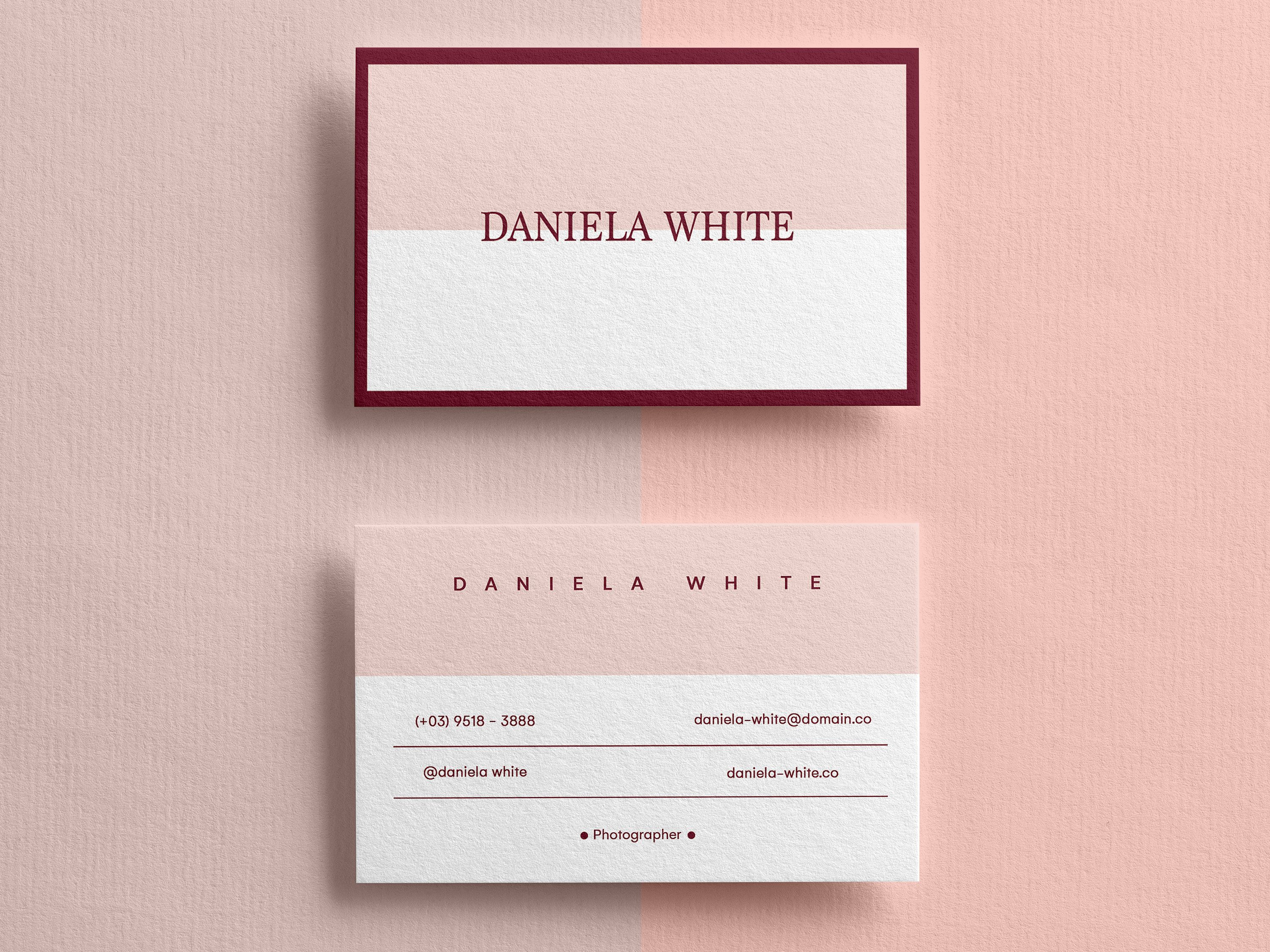 Minimalist Business Card, Modern Business Cards, Business Pertaining To Template For Calling Card