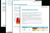 Mitigation Summary Report – Sc Report Template | Tenable® with Risk Mitigation Report Template