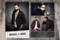 Modeling Comp Card Template, Fashion Model Comp Card regarding Download Comp Card Template