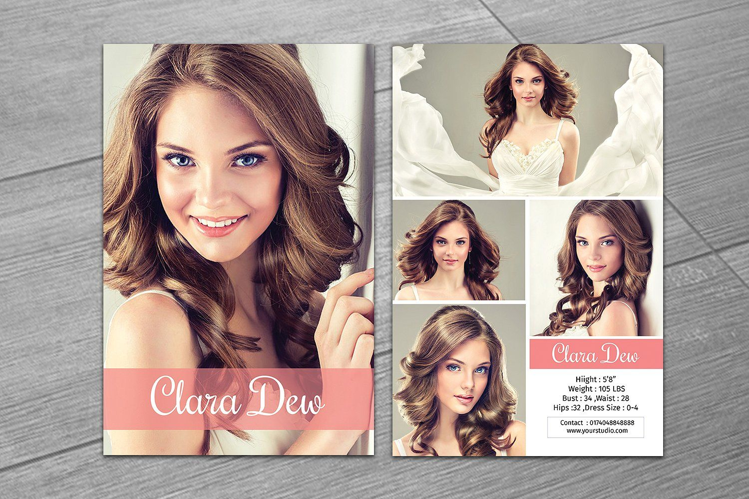 Modeling Comp Card Template V247Template Shop On Throughout Free Comp Card Template