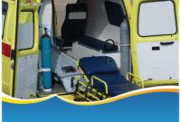 Modern Ambulance Powerpoint Template regarding Ambulance Powerpoint Template