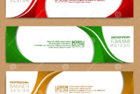 Modern Banner Template, Minimalist Banner Web Template in Tie Banner Template