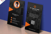 Modern Corporate Business Card Template Free Psd with regard to Calling Card Template Psd