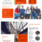 Modern Orange College Tri Fold Brochure Template Template Pertaining To Engineering Brochure Templates