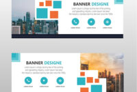 Modern Web Banner Template Free Download inside Website Banner Templates Free Download