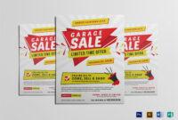 Modern Yard Sale Flyer Template in Yard Sale Flyer Template Word