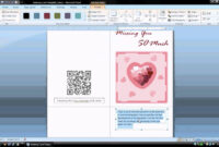Ms Word Tutorial (Part 1) – Greeting Card Template, Inserting And  Formatting Text, Rotating Text inside Half Fold Greeting Card Template Word