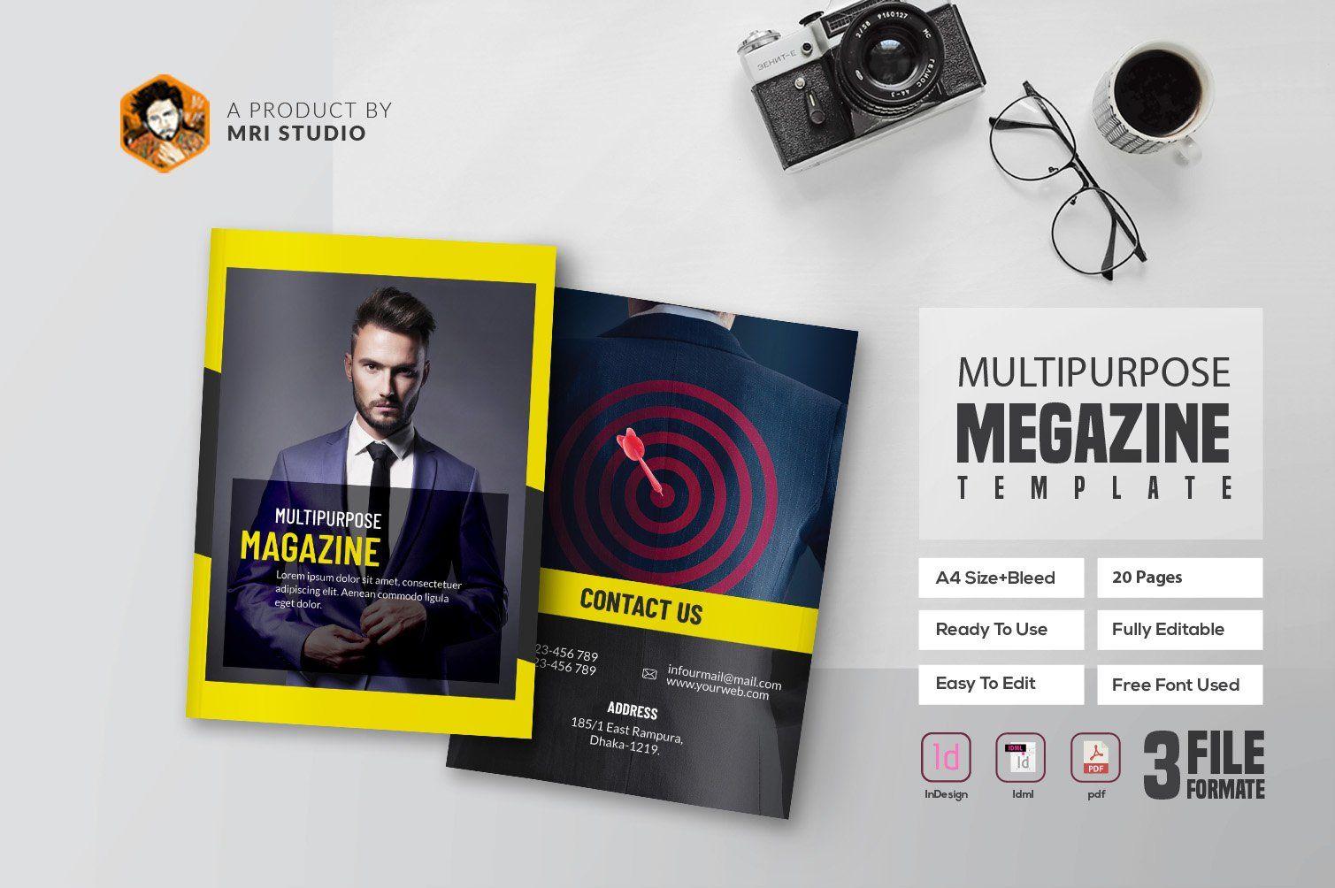 Multipurpose Magazine #ad , #affiliate, #quot#word Pertaining To Magazine Ad Template Word