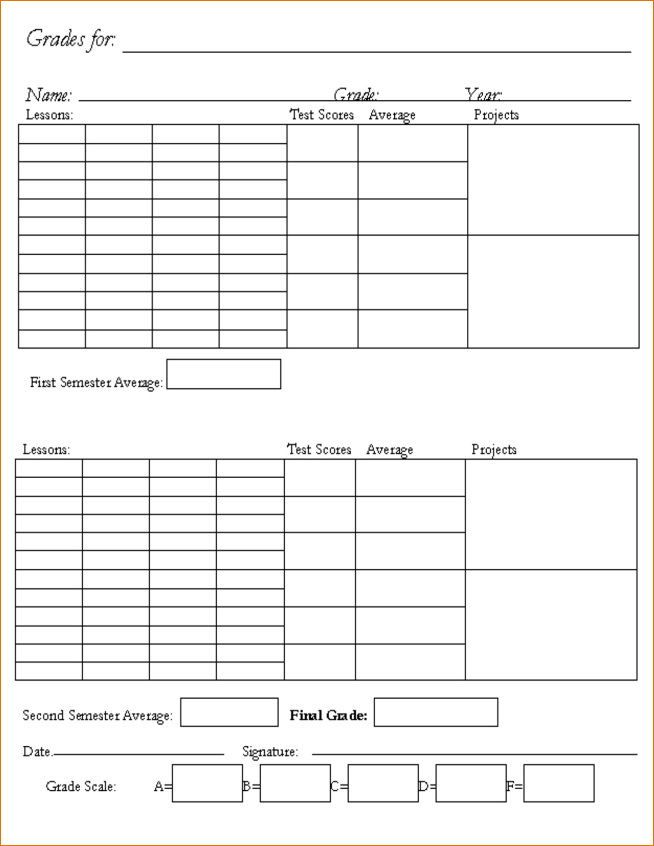 Name Card Template For Kindergarten Throughout Boyfriend With Boyfriend Report Card Template