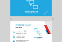 Networking Business Card Design Template, Visiting For Your pertaining to Networking Card Template