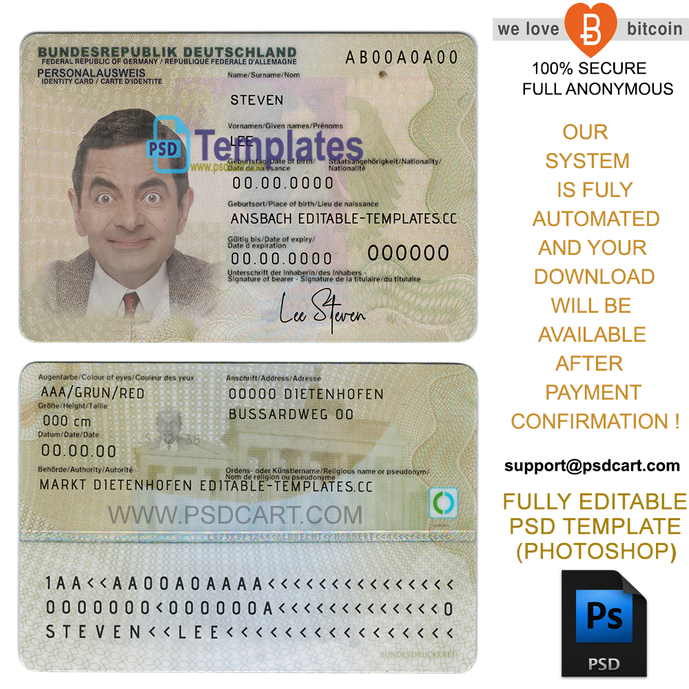 New 2019 Editable Id Card Templates | Business Letters Blog With Regard To Georgia Id Card Template