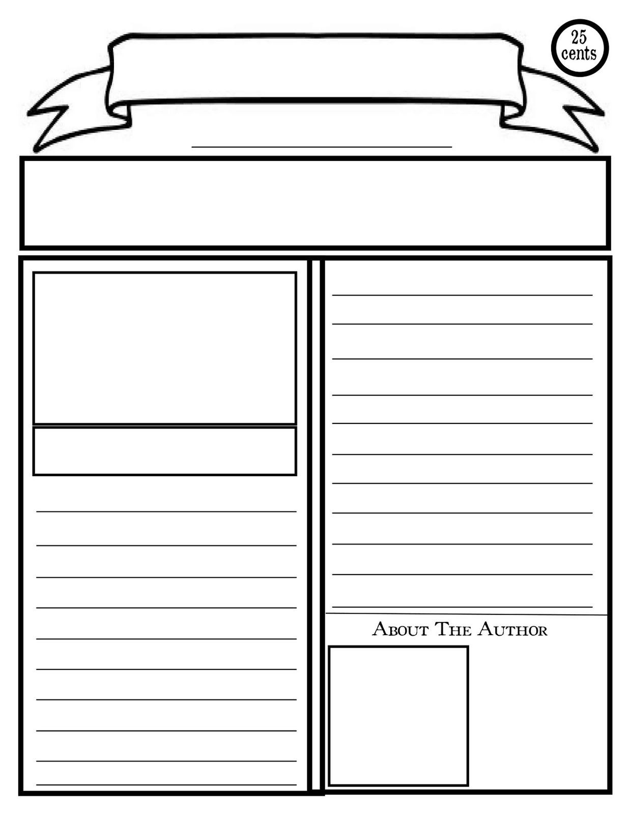 Newspaper Report Template Ks1 The Story Of Newspaper Regarding Report Writing Template Ks1