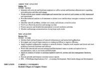Noc Analyst Resume Samples | Velvet Jobs For Noc Report Template
