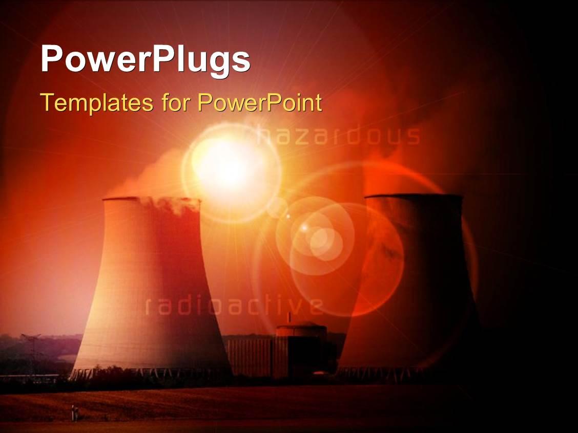 Nuclear Powerpoint Templates W/ Nuclear Themed Backgrounds For Nuclear Powerpoint Template