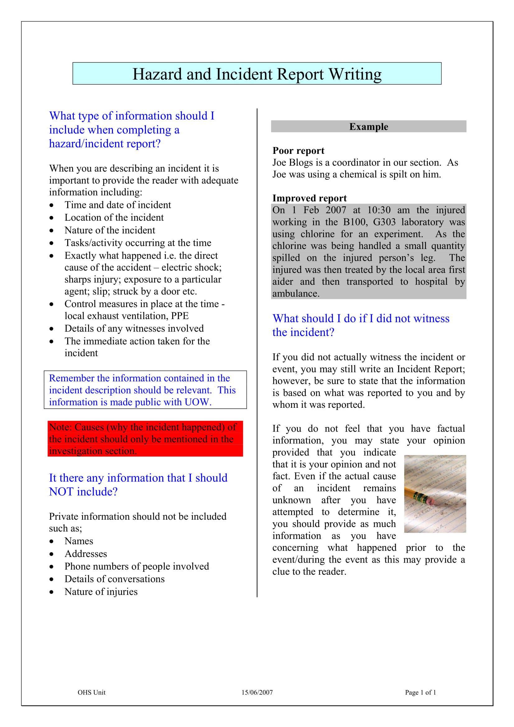 Ohs Monthly Report Template - Atlantaauctionco For Ohs Monthly Report Template