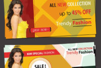 Online Shopping Banner Templates | Free Website Psd Banners for Free Online Banner Templates