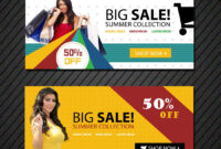 Online Shopping Banners Templates | Free Website Psd Banners inside Free Online Banner Templates