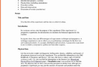 Organic-Chemistry-Lab-Report-Example-Also-Ibmistry-Lab with regard to Lab Report Template Chemistry