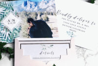 Our Save The Dates! Photo From Vistaprint, Envelope with Michaels Place Card Template