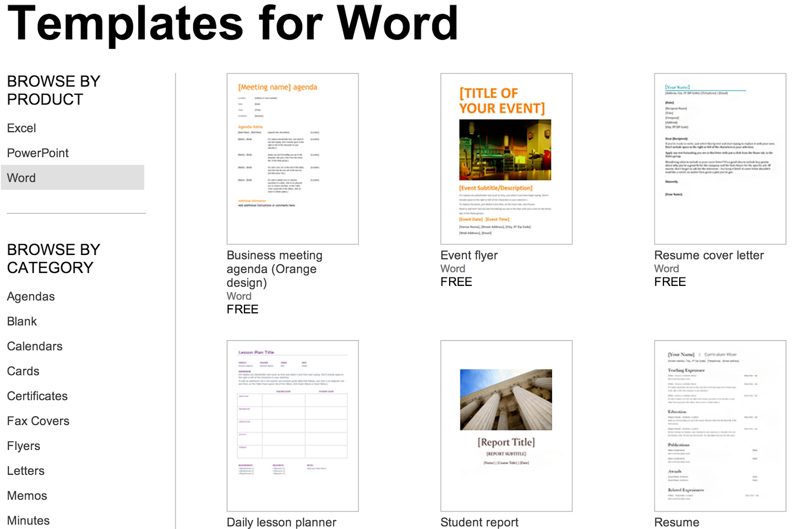 Over 250 Free Microsoft Office Templates & Documents For Hours Of Operation Template Microsoft Word