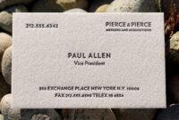 Paul Allen Business Card Template   Creative-Atoms throughout Paul Allen Business Card Template