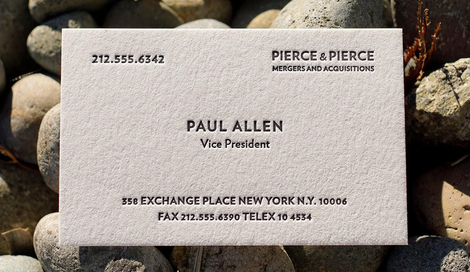 Paul Allen Business Card Template   Creative Atoms Throughout Paul Allen Business Card Template