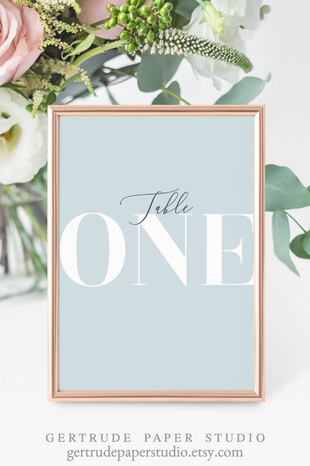 Personalized Wedding Table Numbers, Digital Download Inside Table Number Cards Template