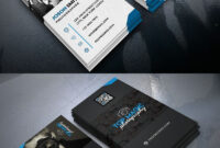 Photographer Business Card Psd Bundle | Wrighteous inside Professional Business Card Templates Free Download