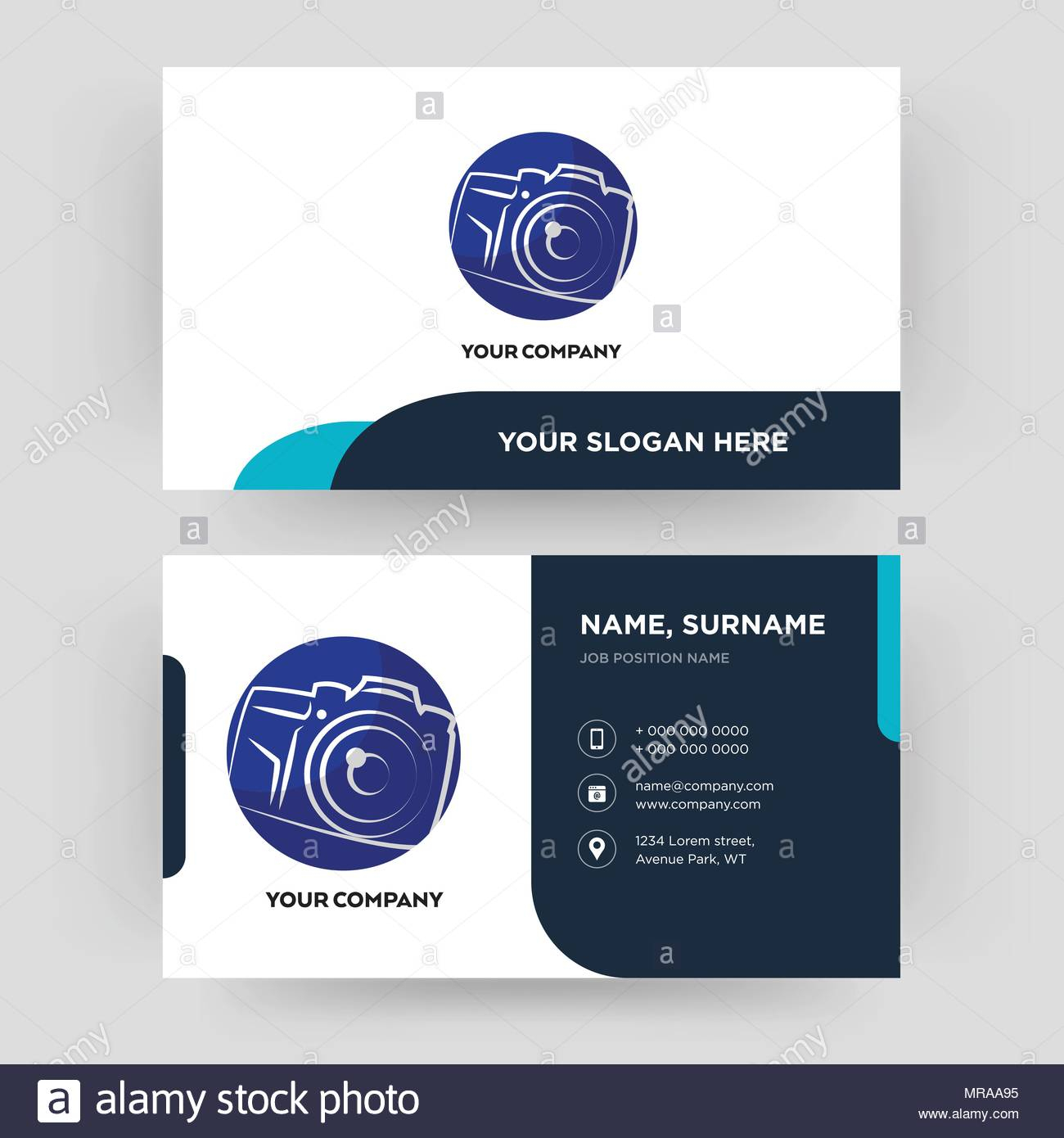 Photography Camera, Business Card Design Template, Visiting Intended For Photographer Id Card Template