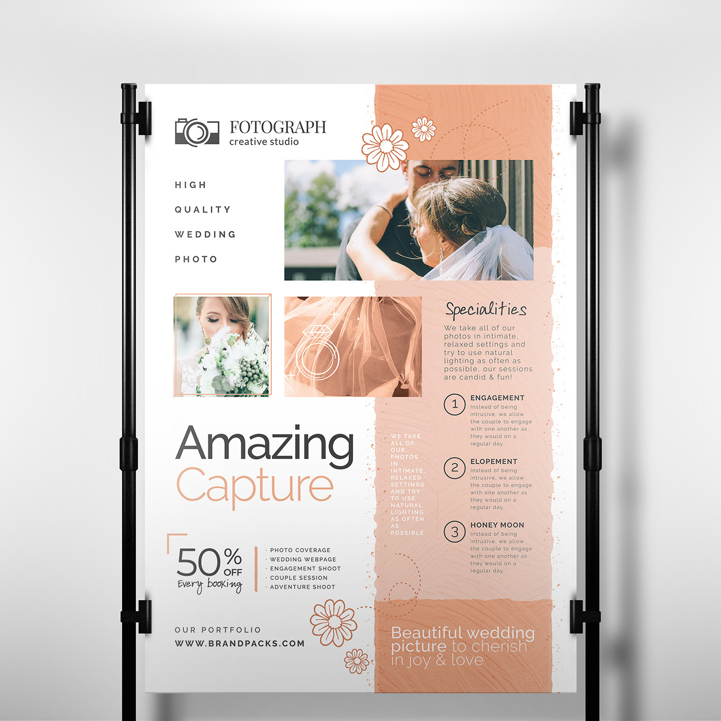 Photography Service Banner Template - Psd, Ai & Vector Inside Photography Banner Template