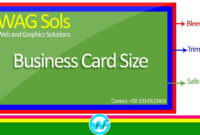 Photoshop Business Card Template With Bleeds | Learn Photoshop In Hindi /  Urdu for Business Card Template Size Photoshop