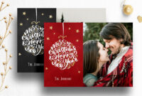 Photoshop Christmas Card Template For Photographers – 012 regarding Free Photoshop Christmas Card Templates For Photographers