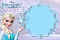 Pin On Birthdays intended for Frozen Birthday Card Template