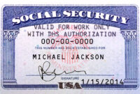Pin On Novelty Psd Usa Ssn Template with regard to Blank Social Security Card Template Download