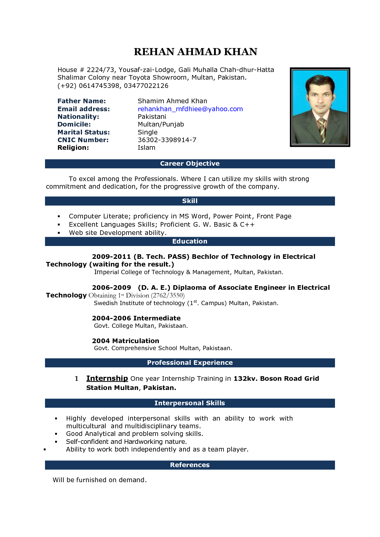 Pin On Places To Visit Pertaining To Resume Templates Word 2007