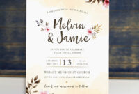 Pin On Ss-Wedding Invitations inside Church Invite Cards Template