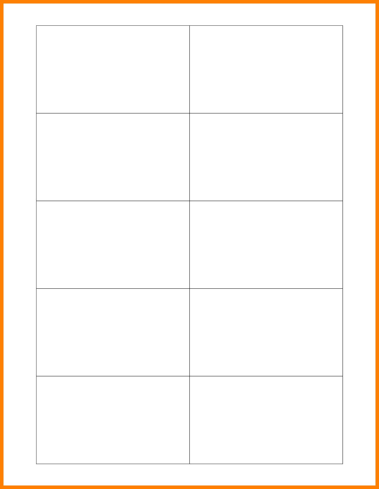 Pinanggunstore On Business Cards Regarding Free Blank Business Card Template Word