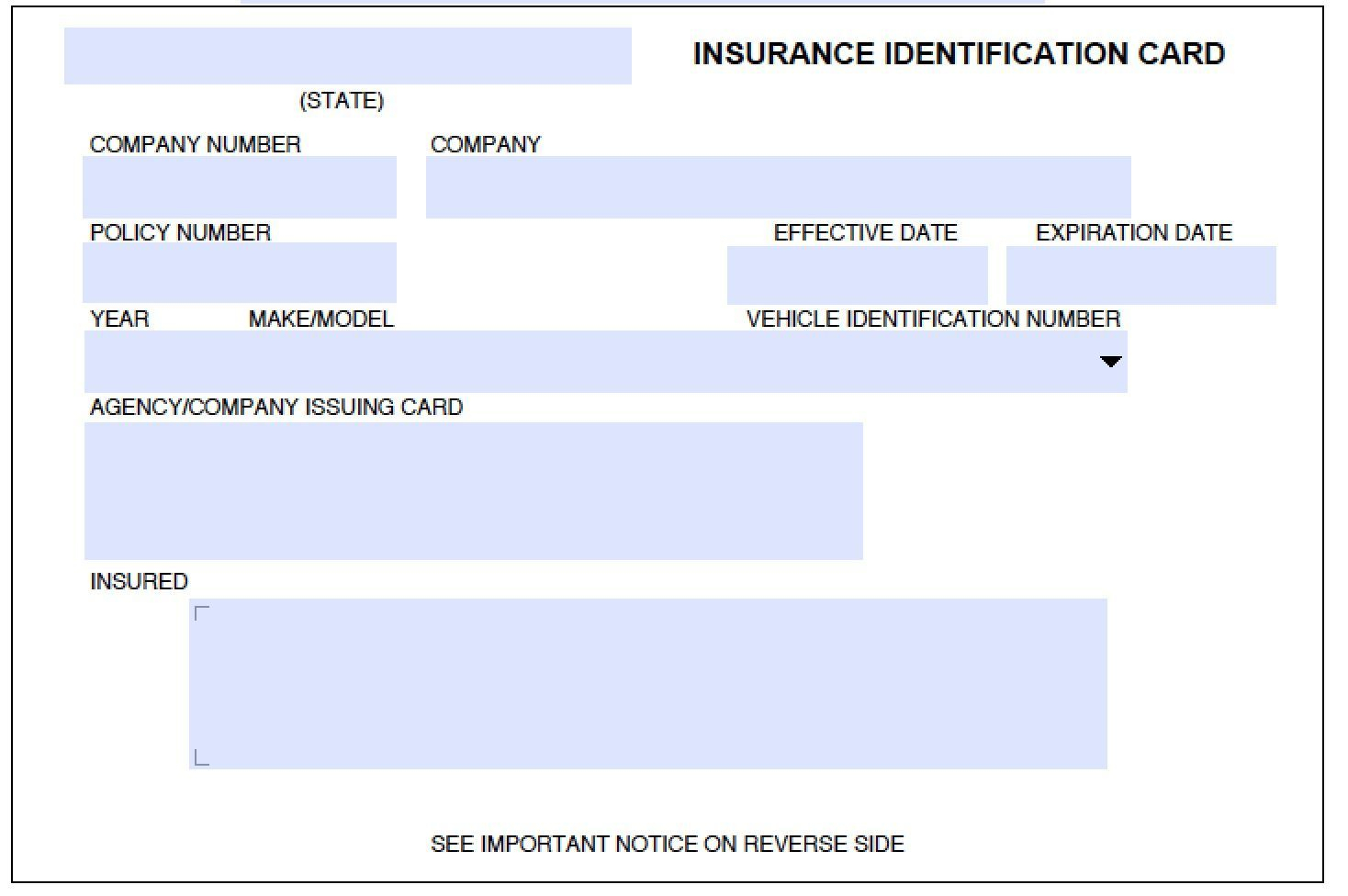 Pindinding 3D On Remplates And Resume In 2019 | Report Regarding Auto Insurance Id Card Template