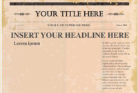 Pindollarcool On Ideas | Newspaper Template Word, Blank regarding Newspaper Template For Powerpoint
