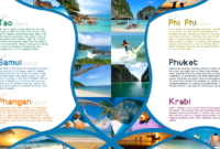 Pinfarideh On Brochure Design | Travel Brochure Design regarding Word Travel Brochure Template
