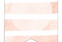 Pink Stripes Blank Banner Template – Shadow, Transparent Png with Free Blank Banner Templates