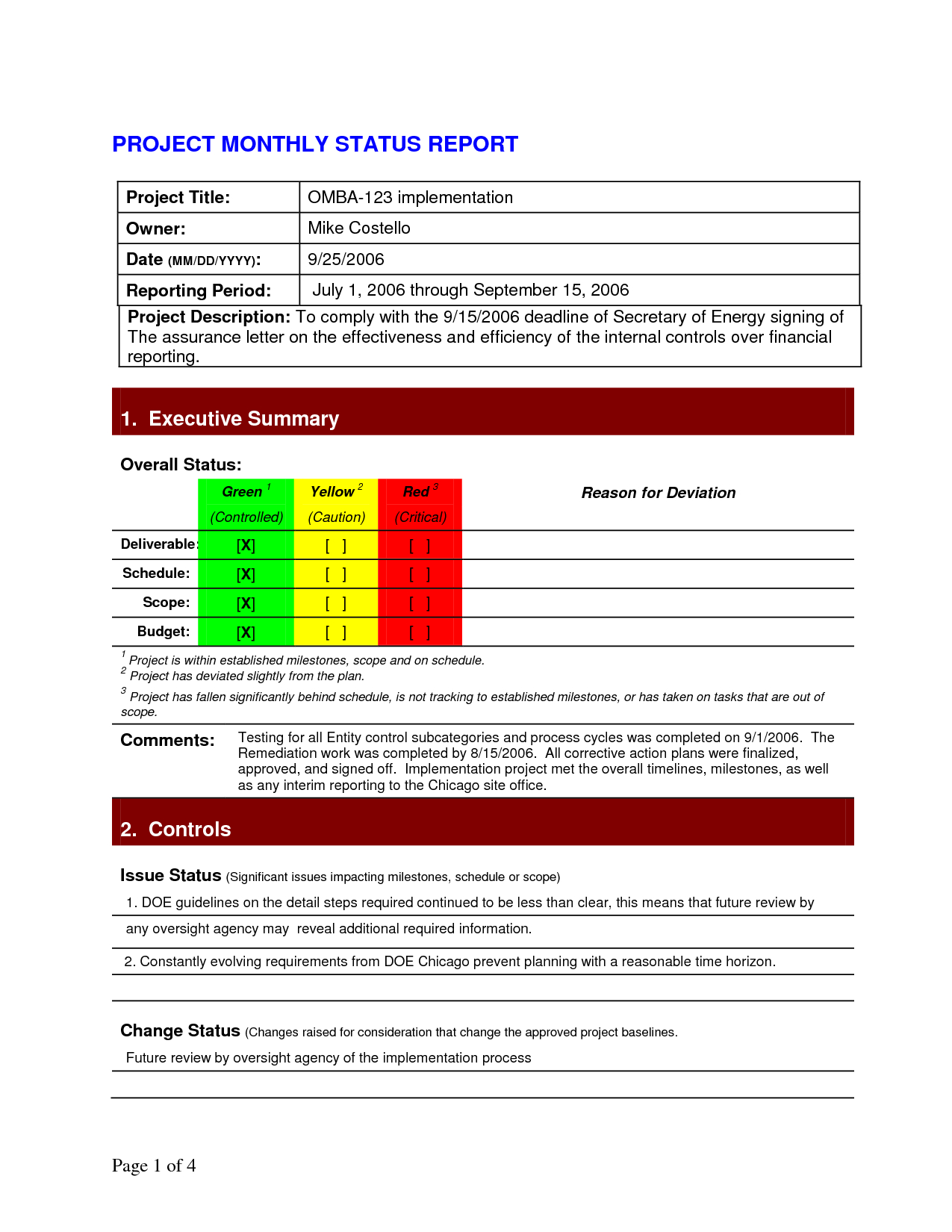 Pinlesedi Matlholwa On Templates | Project Status Report For Project Daily Status Report Template