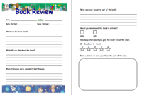 Pinm M On Book Clubs | Book Review Template, Book in Book Report Template Grade 1