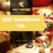 Pizzeria Restaurant Gift Certificate Template | Free within Pizza Gift Certificate Template