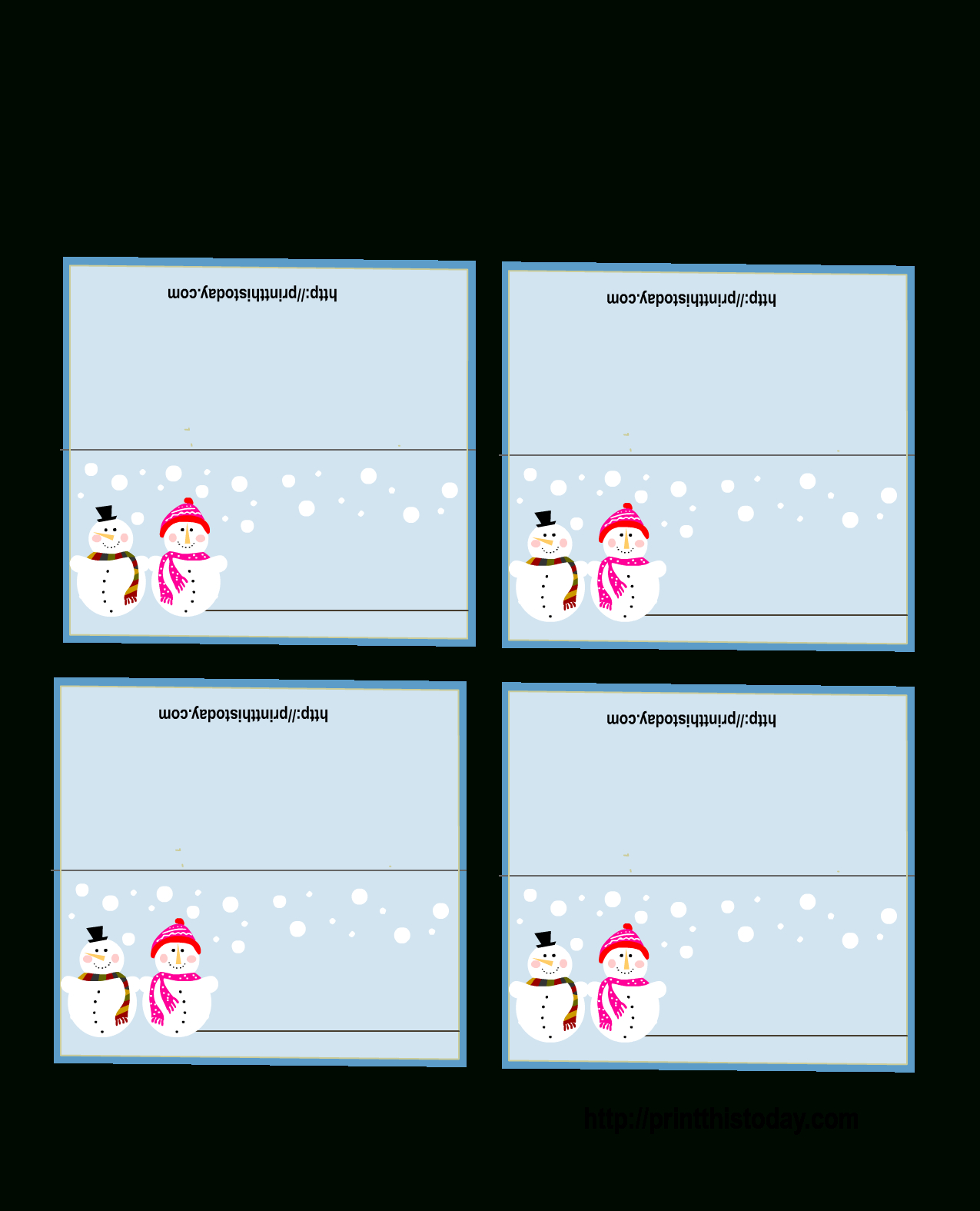 Place Card Template 6 Per Sheet Clipart Images Gallery For For Free Template For Place Cards 6 Per Sheet