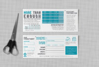 Pledge Cards & Commitment Cards   Church Campaign Design with Pledge Card Template For Church