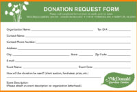Pledge Cards Template Fundraising Card Certificate Images with Donation Card Template Free