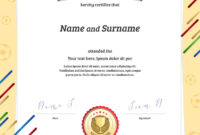 Portrait Certificate Template In Football Sport in Athletic Certificate Template