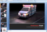 Powerpoint: Ambulance Flash Presentation Template regarding Ambulance Powerpoint Template